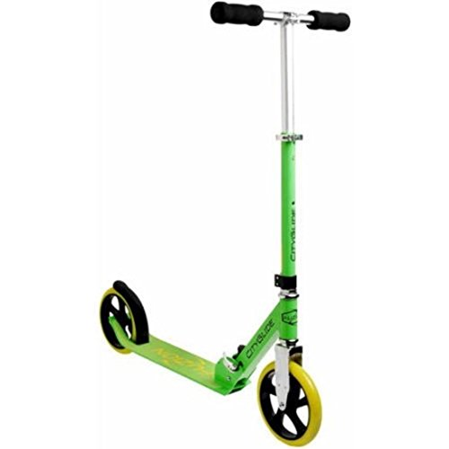 Foldable Scooter CityGlide Cruising, Green