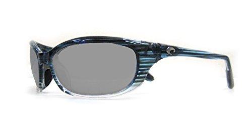 Costa Del Mar Harpoon Sunglasses, Topaz Fade, Silver Mirror 580 Plastic Lens