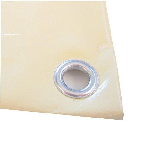 TUTTOPERGOLE Telo PVC Avorio Cm 300X250