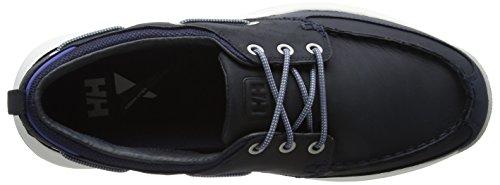 Helly Hansen 11314 Uomo Newport F-1 Deck Shoe Navy / Blu Notte / Vintage