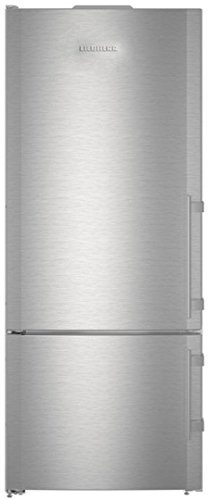 (Liebherr CS1410L 30 Inch Counter Depth Bottom Freezer Refrigerator with 14.6 cu. ft. Total Capacity, in Stainless)