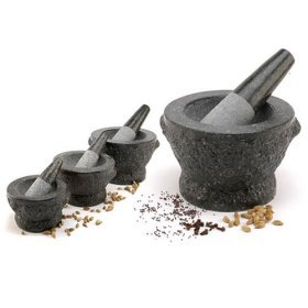 Mortar & Pestle Thai Granite (Stone) Small 5''