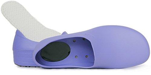 STICKY Bequeme Arbeitsschuhe für Frauen - Waterproof Slip Resistant - StickyPRO Schuhe Lila