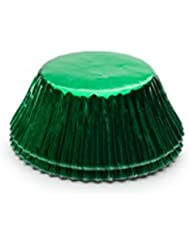 Fox Run 6980 Green Foil Bake Cups, Standard, 32 Cups