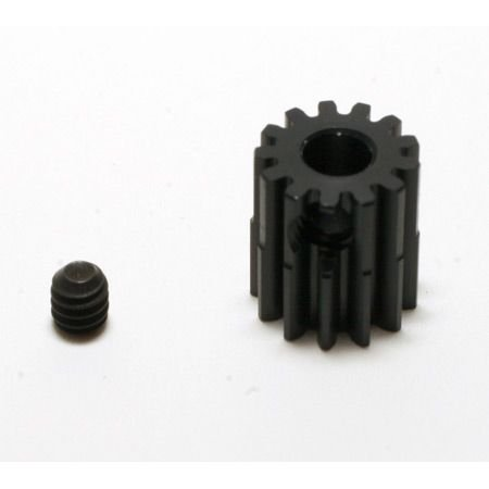 Robinson Racing Products 48P Hard Coated Aluminum Pinion Gear, 13T, RRP1313 ()