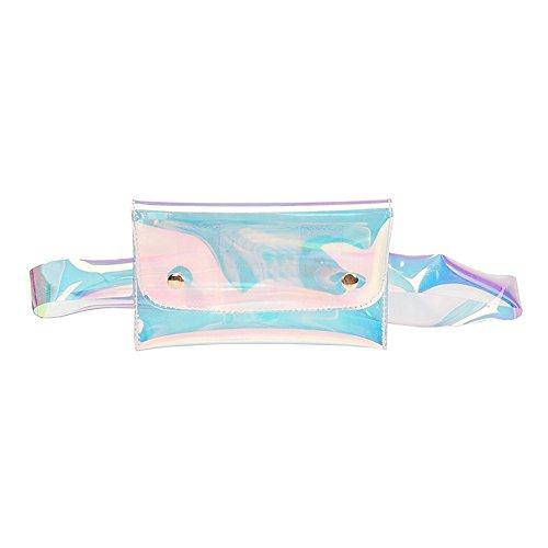 (Clearance Sale!DEESEE(TM)Fashion Beach Bag Women Messenger Cute Waterproof Crossbody Bag Chest Bag (A))