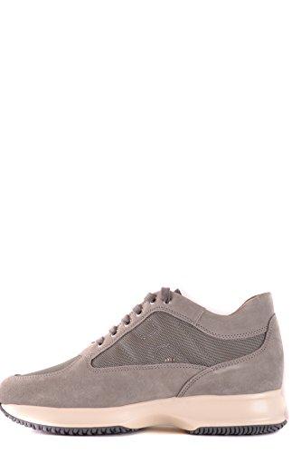 Hogan Mcbi148389o Sneakers In Camoscio Grigio