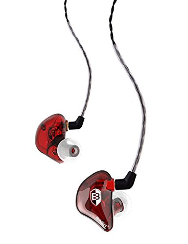 BASN BsingerBC100 Singer Headphones MMCX Detachable Cable, Noise Cancelling in-Ear Monitor Earphones