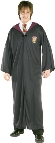 Harry Potter Hogwarts Robes (Harry Potter Adult Robe, Medium Costume)