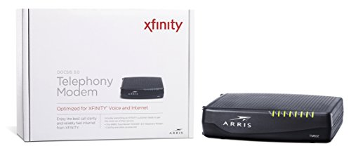 ARRIS Touchstone TM822G Internet & Voice Modem for XFINITY from Comcast