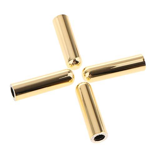 Baosity 4 Pieces Metal 4 Door Lock Pins Knob Kits for BMW 1/2/3/5/6/7 Series X4 X5 X6 - Gold -