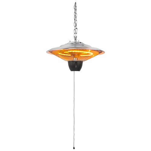 XtremepowerUS 17'' Ceiling Electric Hanging Heater 1500 Watt w/ Remote Controller by XtremepowerUS