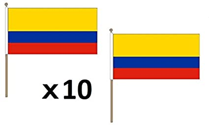 Amazon.com: AZ FLAG - Bandera colombiana de 11.8 x 17.7 in ...