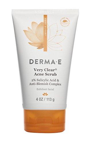 Derma E Very Clear Acne Scrub 4 oz by DERMA-E