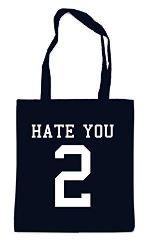 Hate You 2 Bag Black
