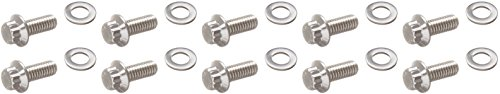 ARP 4373001 Stainless Steel Bolt Kit For Rear End Cover On Select GM 10-Bolt ()