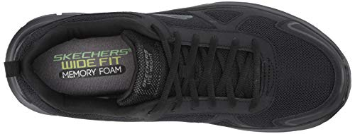 Skechers Black bbk scloric Track 52631 Uomo Sneaker qnSqOrPxw