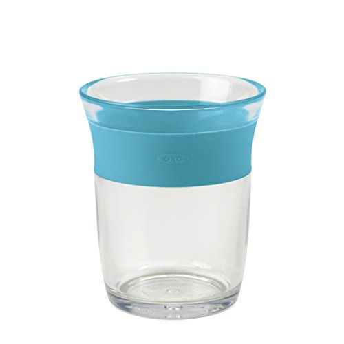 OXO Tot Cup for Big Kids with Non Slip Grip - Aqua