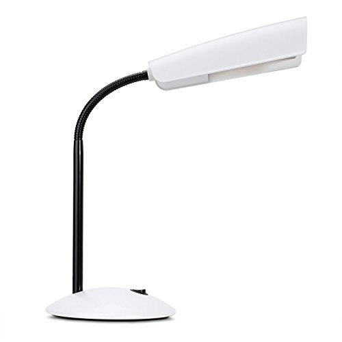 LED Desk Lamp, Table Lamp, OnMexto 6W 48 LED SMD, Built in Battery, USB Rechargeable, Touch Sensitive, Daylight White, Dimmable Design, Eye-protection, Flicker-free Lighting for Student Studying