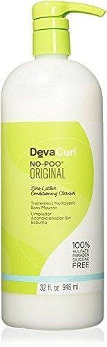 Deva Care Hair (DevaCurl No Poo, Conditioning Cleanser 32 oz)