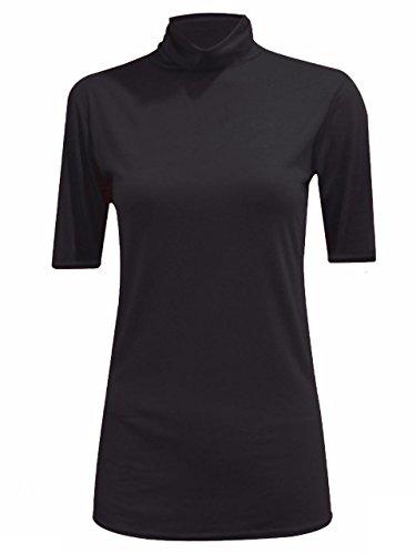 JAVOX Fashion's - Camiseta - para mujer negro