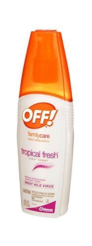 OFF!® FamilyCare Insect Repellent lll, Tropical Fresh, 6 fl oz (Repellent Insect Formula Family)
