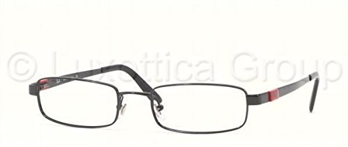 Ray-Ban RX6076 Eyeglasses Shiny Black - Bans Ray Rx