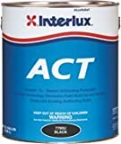 Interlux Fiberglass Bottomkote ACT with Irgarol, BLACK, 1 GALLON