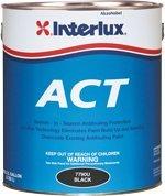 Interlux Green Fiberglass Bottomkote ACT Antifouling Paint, Quart Y5590B/QT