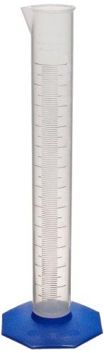 Nalgene 3662-4000 Polypropylene Graduated Cylinder, 4000mL Capacity