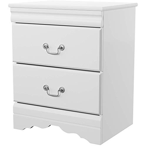 Ashley Furniture Signature Design - Anarasia Nightstand - - Nightstand White Mission