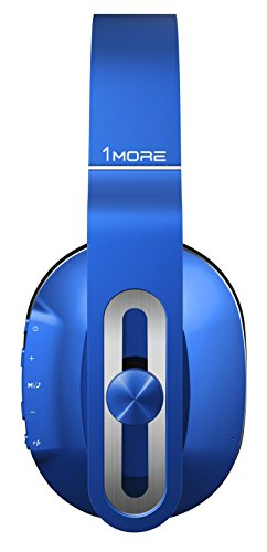 1MORE Wireless Over-Ear Headphones Bluetooth Comfortable Earphones with Bass Control, Durable Headband, Noise Cancellation Mic and in-Line Remote Controls Smartphones/PC/Tablet 3