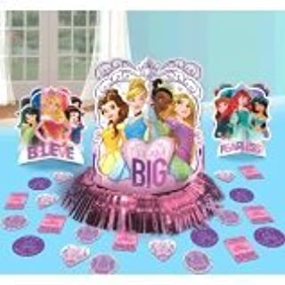 Table Decorating Kit | Disney Princess Dream Big Collection | Party Accessory (B01LWN3HL0) | Amazon Products