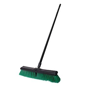 Sreehari Heavy Duty (Oval Shape & Rubberized Edges) Floor Cleaning Tall Broom Brush