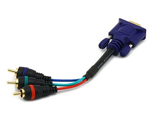 Monoprice 6inch Component Video Cable