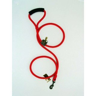 Timberwolf Alpine Rope Dog Leash ~Red~ 5/16''x 48'' by TimberWolf