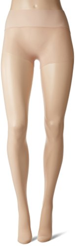 HUE Women's Flat-Tering Fit Sheer Tights, Nude Blush, 02 (Hue Sheer Womens)