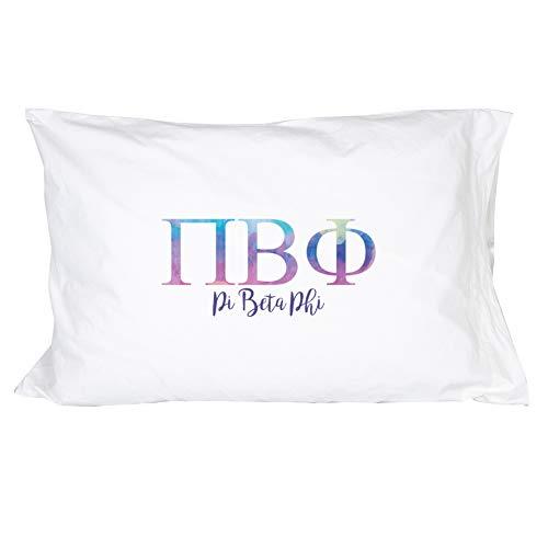 - Desert Cactus Pi Beta Phi Sorority Water Color Pillowcase 300 Thread Count 100% Cotton Pi Phi