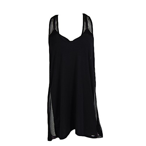 OAKLEY Women's Sport Mesh Cover Up, Black, Medium