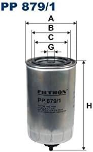 Filtron PP879//5 Inyecci/ón de Combustible