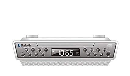 Sylvania skcr2713 bajo una Mesa Reproductor de CD con Radio y ...