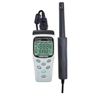 TM-182 Temperature & Humidity Meter with Datalogging Function by Tenmars