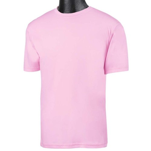 - Champion Youth Moisture Management T-Shirt in Cashmere Pink - X-Large