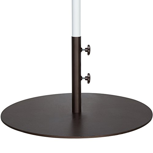Abba Patio 55 lbs Round Steel Market Patio Umbrella Base 27.4 inch (Patio Market Umbrella Base)