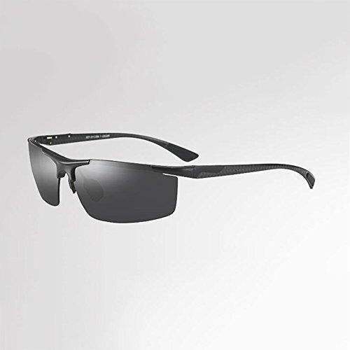 HONEY Gafas de sol polarizadas vintage para hombres - Funcionamiento de la pesca al aire libre - Gafas de conducción (Color : Black frame) : Amazon.es: ...