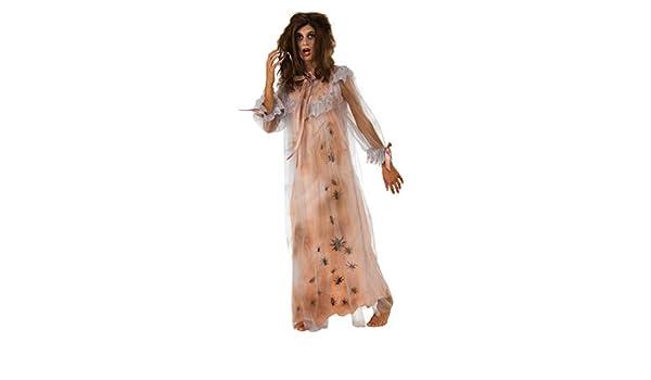 Horror Nightgown Disfraz De Damas SM: Amazon.es: Juguetes y juegos