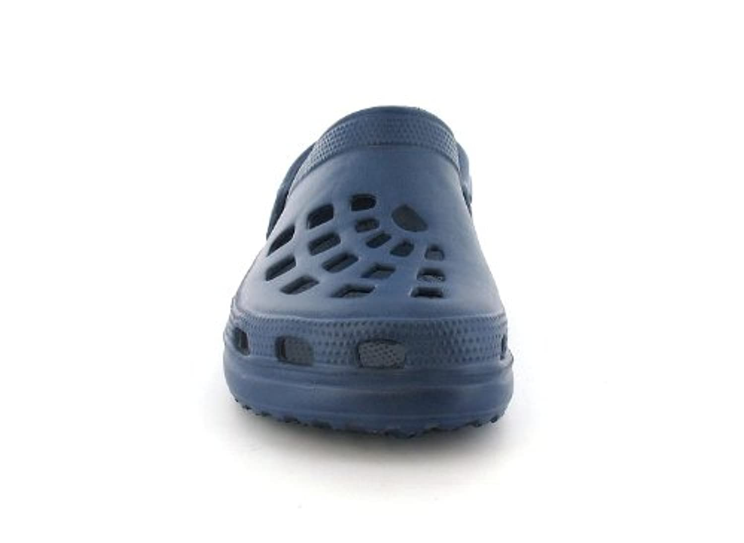 New Boys/Childrens Blue Moulded Clog Sandals With Moveable Back Straps - Navy - UK SIZE 3