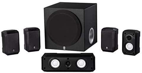 Yamaha NS-SP1800BL 5.1-Channel Home Theater Speaker Set (Subwoofer And Center Speaker)