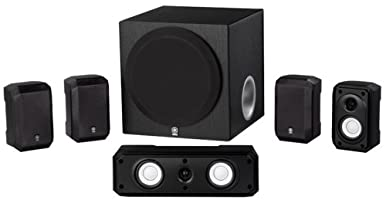 Sharper Image 51 Home Theater System With Subwoofersound Bar