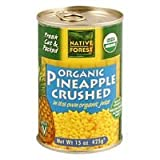 Native Forest Pineapple Organic Crushed, 14-Ounce (Pack of 6) ( Value Bulk Multi-pack)